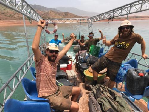 Volker Seuss: Maroc- Blog - Zilla Island, eine Insel im Nirgendwo